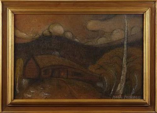Norrländskt Landskap by Maria FRÖBERG