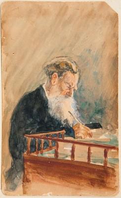 Portrait Of Leo Tolstoi by Ilya Efimovich REPIN