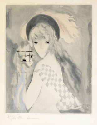 La Femme Au Singe, After by Marie LAURENCIN