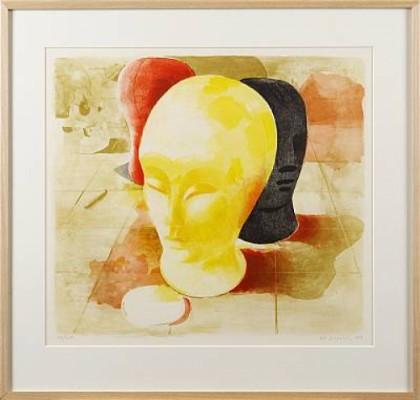 Huvuden by Ulf GRIPENHOLM