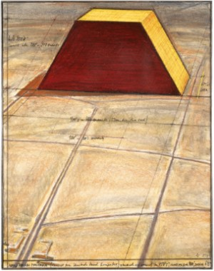 Abu Dhabi Mastaba (project For United Arab Emirates) by Christo JAVACHEFF