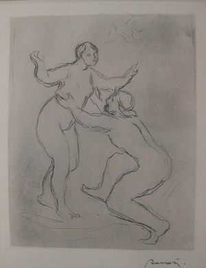 Le Fleure Scamandre by Pierre Auguste RENOIR