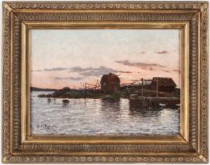 Skärgård I Skymning by Gerda WALLANDER