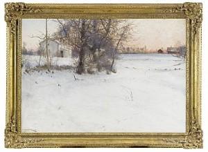 Vinter - Knapegård by Nils KREUGER