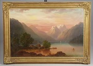 Fjordlandskap by Teodor BILLING