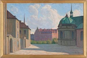 Motiv Från Riddarholmen by Aron GERLE