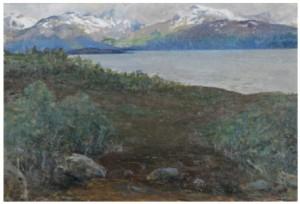Norrländskat Landskap by John BAUER