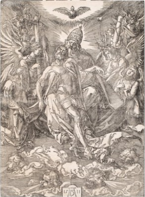 The Holy Trinity by Albrecht DÜRER