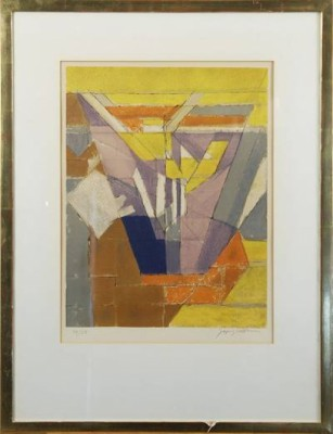 Komposition by Jacques VILLON