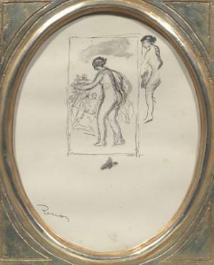 Femmes Au Cep De Vigne by Pierre Auguste RENOIR