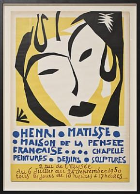 Maison De La Pensée Francaise by Henri MATISSE