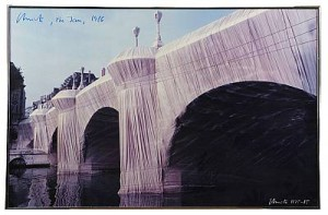 Pont Neuf - Wrapped by Christo JAVACHEFF