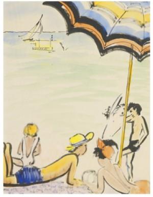 På Stranden by Isaac GRÜNEWALD
