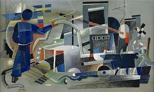 Vedettbåtar Och Matroser by Gösta 'Gan' ADRIAN-NILSSON