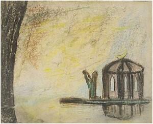 I Bön Vid Templet by Carl Fredrik HILL