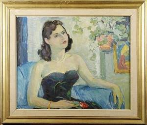 Kvinna I Balklänning by John CARLSON