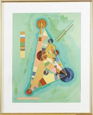 Bauhaus, Litografi Efter Komposition Från 1927 by Wassily KANDINSKY