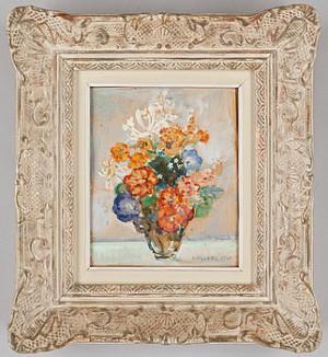 Blomsterstilleben by Edvin OLLERS