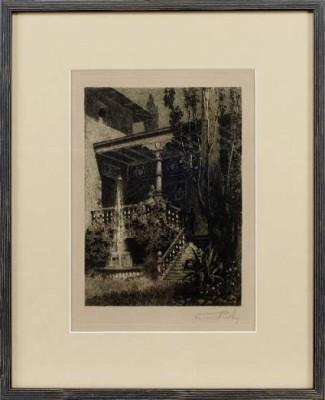 Italienska Trappen by Ferdinand BOBERG
