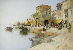 Venetiansk Kaj by Wilhelm Von GEGERFELT