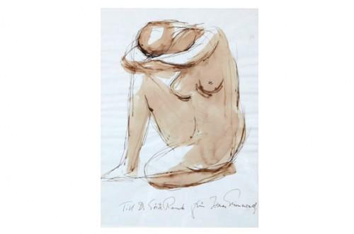 Nakenstudie by Isaac GRÜNEWALD