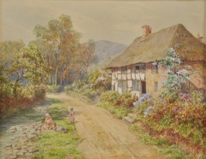 West Country Cottage by Maud HOLLYER