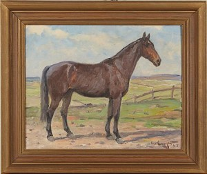 Häst by Alexander 'Alex' LANGLET