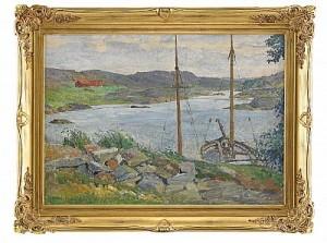 Båtar I Havsvik by Carl WILHELMSON