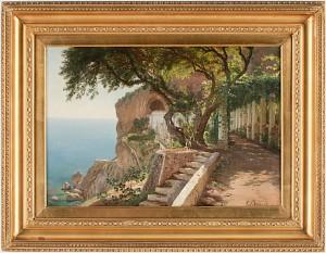 Från Kusten Vid Amalfi by Carl Frederik AAGAARD