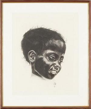 Barnporträtt by Lena 'Lena' SVEDBERG