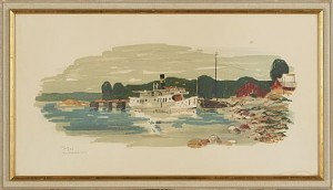 Skärgårdsbåt by Harry WICHMANN