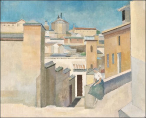 Stadsvy, Toledo by Ragnar EKELUND