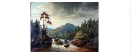 Westernorrland - Romantiskt Landskap by Teodor BILLING