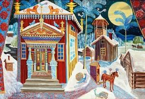 Timmerkörarnas By by Mårten ANDERSSON