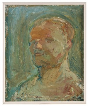 Självporträtt by Hans WIGERT