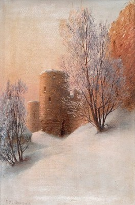 Winter (kaporie Fortress) by Gavril Pavlovich KONDRATENKO