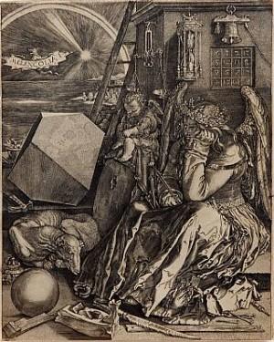 Melencolia I, Sannolikt Utförd Av Johann Wierx Omkring 1600, Senare Avdrag by Albrecht DÜRER