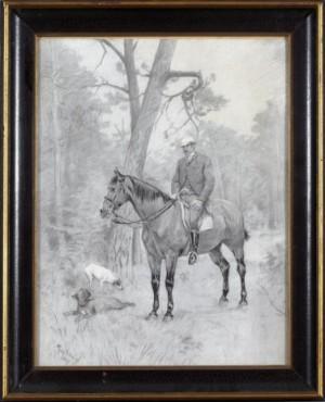 Ryttare Till Häst by Georg ARSENIUS