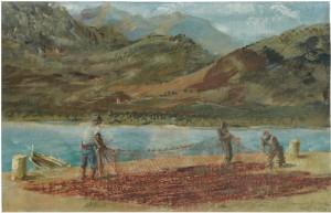 Pêcheurs De Calvi by Alexander Evgenevich IACOVLEFF