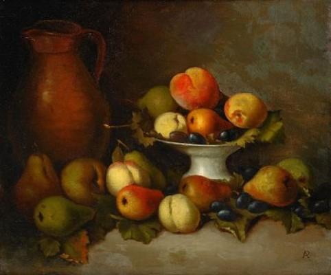 Fruktstilleben by Augusta PLAGEMANN