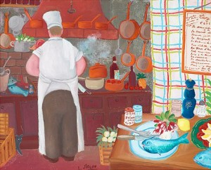 Le Chef by Lennart JIRLOW