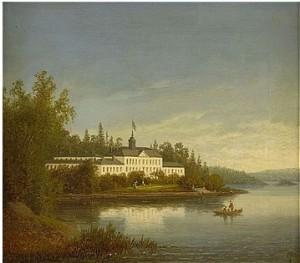 Ulriksdal Från Stockholm by Carl Abraham ROTHSTÉN
