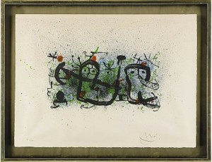 Ma De Proverbis by Joan MIRO