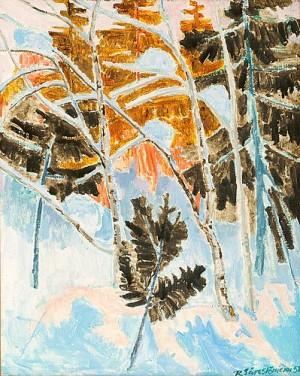 Winterlandscape by Reidar SÄRESTÖNIEMI