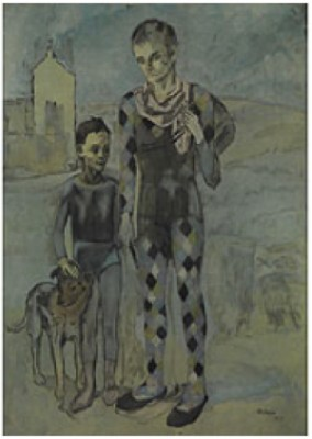 Les Saltimbanques by Pablo PICASSO