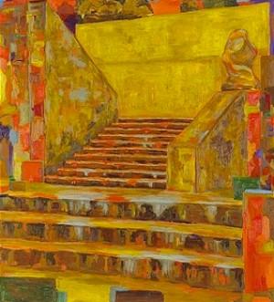 Runtom Trappa 19 by Rolf HANSON
