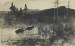 Slädfärd by Bruno LILJEFORS