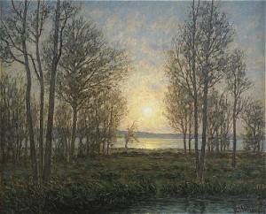 Solens Strålar Genom Träden - öland by Per EKSTRÖM