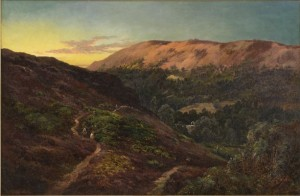 Scottish Highland Path by Alfred De The Elder BREANSKI