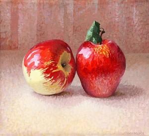 Stilleben Med äpplen by Maria BOCZEWSKA